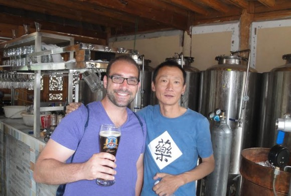 Red Star Commune Brewery in Baisha Village, China