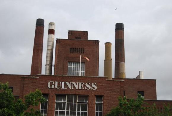 Guiness in Dublin, Ireland