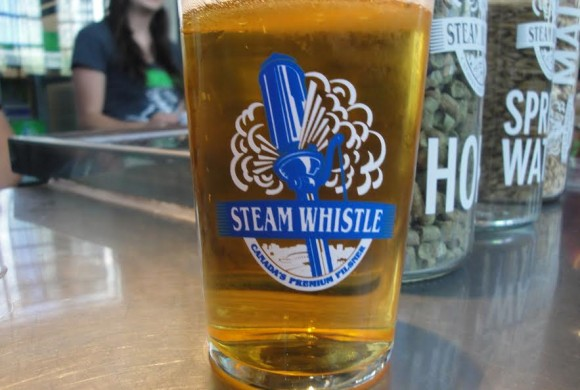 Steam Whistle Brewery in Toronto, Canada