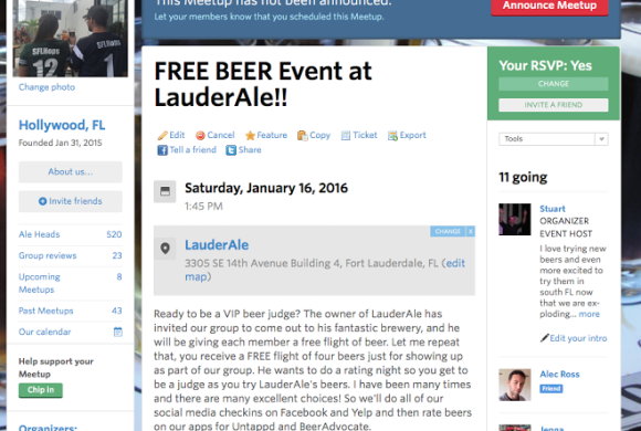 JANUARY 16, 2015  FREE FLIGHTS AT LAUDERALE