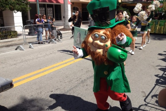 MARCH 13, 2016 ST. PATRICK'S DAY PARADE