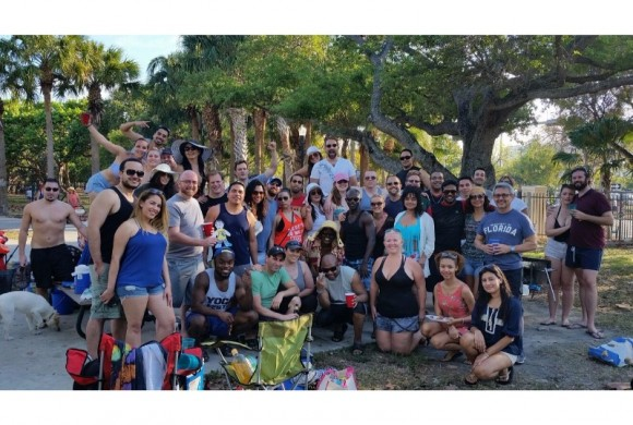 APRIL 9, 2016 BBQ AT MIAMI BEACH