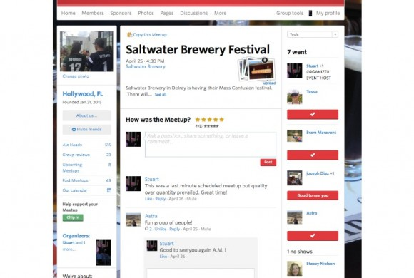 APRIL 25, 2015 MASS CONFUSION AT SALTWATER BREWERY