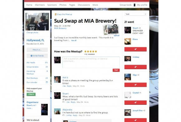 MAY 23, 2015 SUD SWAP AT MIA BREWING