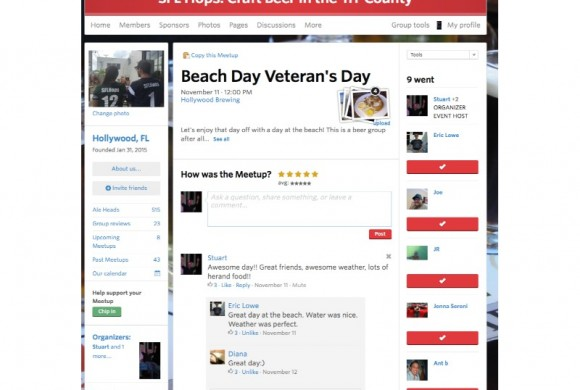 NOVEMBER 11, 2015  BEACH DAY VETERAN'S DAY